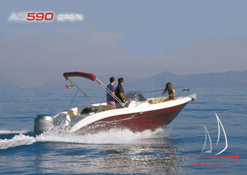 AS MARINE 590 OPEN